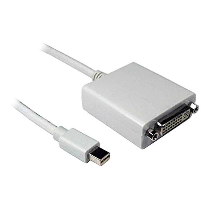 麻痺アサー語kenable Mini Displayポートプラグto DVI - Dメスソケットアダプタケーブル3 M ( ~ 10フィート)