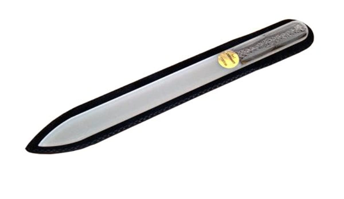 雑品振るベーシックブラジェク ガラス爪やすり 140mm 両面タイプ ボヘミアカットPK05