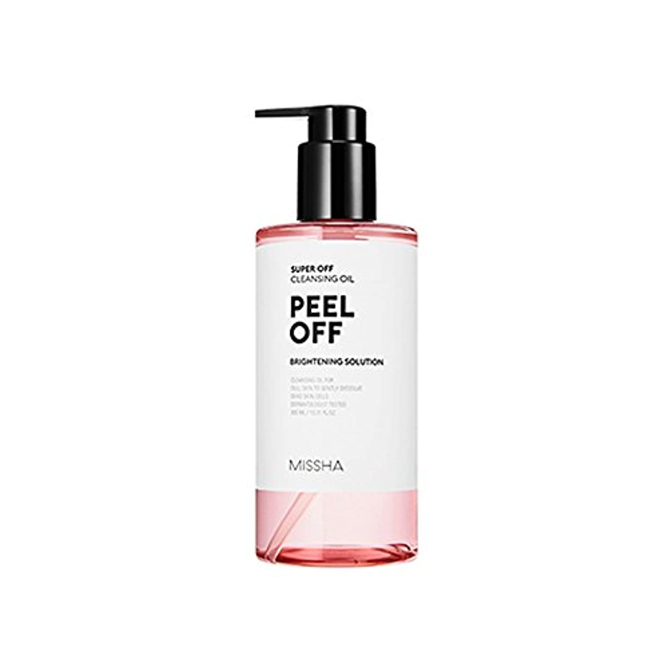 システムクリップ蝶ベルベットMissha Super Off Cleansing Oil 305ml ミシャ スーパー オフ クレンジング オイル (Peel Off ピール オフ) [並行輸入品]