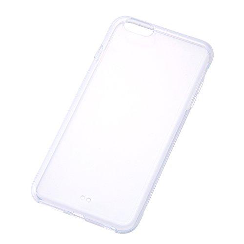 iPhone6 Plus/6s Plus カラフルソフトシェルケース クリア RT-P8CC2/C