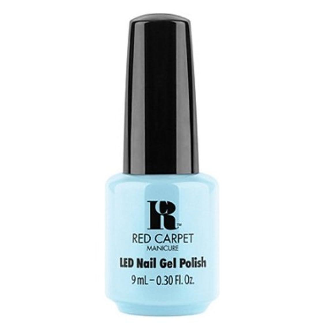 かすかなトマト溶融Red Carpet Manicure - LED Nail Gel Polish - Insta Famous - 0.3oz / 9ml