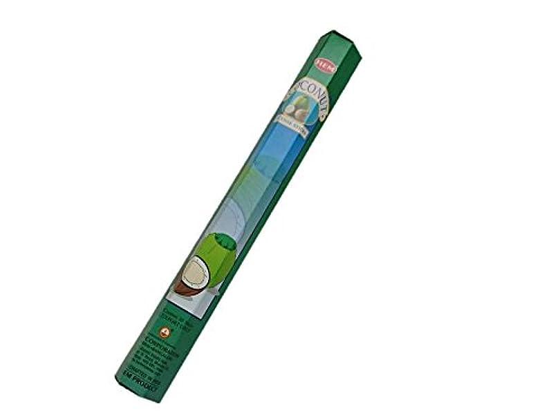 酸度カジュアルサイズHEM(ヘム)お香:ココナッツ スティックお香/インセンス/1箱