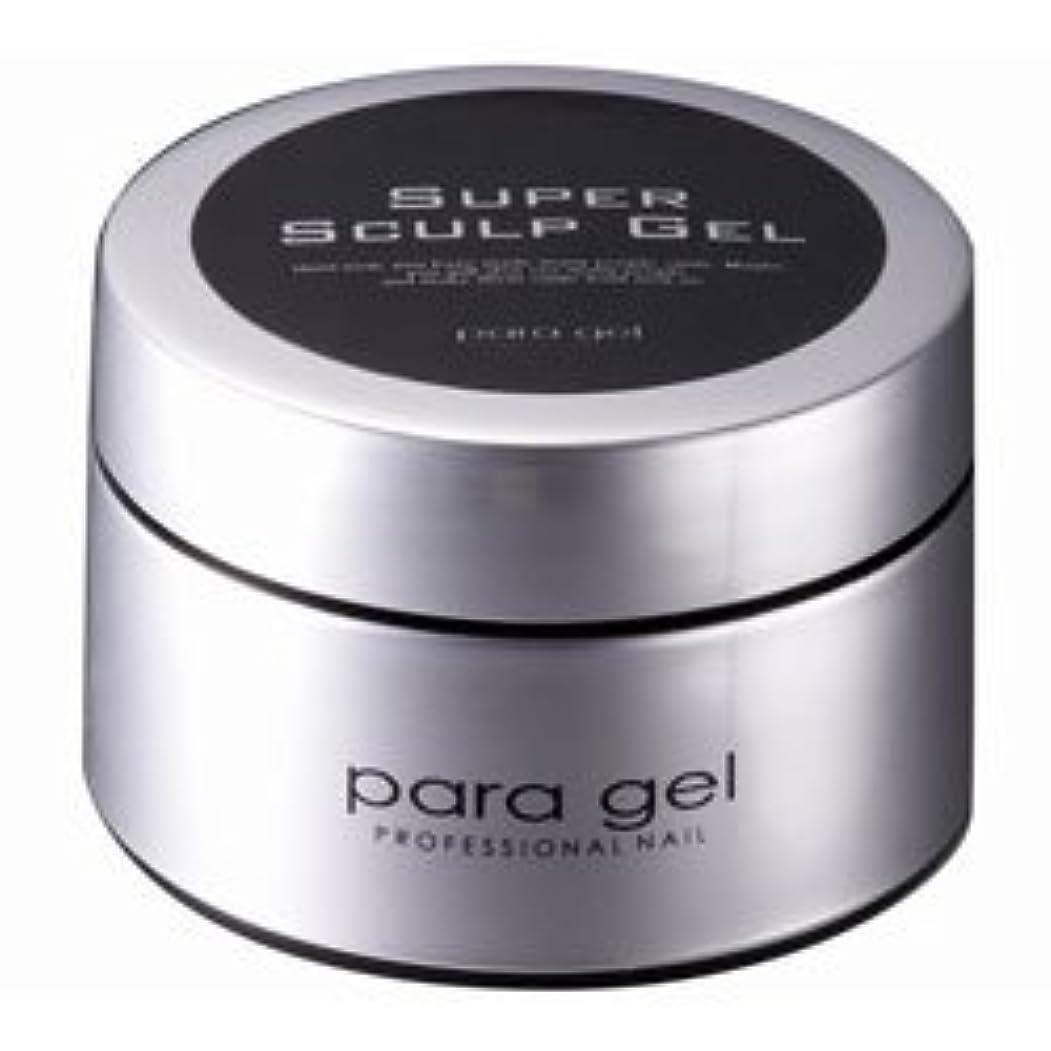 略す軽量妊娠した★para gel(パラジェル) <BR>スーパースカルプジェル クリア 25g
