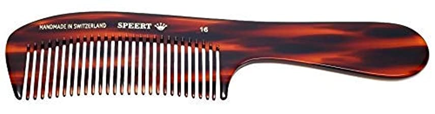 パンツ和解するボートHand-made tortoise comb #16 [並行輸入品]