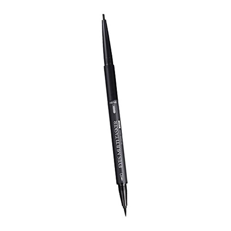 間違っている普通に形状DYNWAVE メイク鉛筆 多機能 アイブロー鉛筆 ロング アイライナー ブラシ