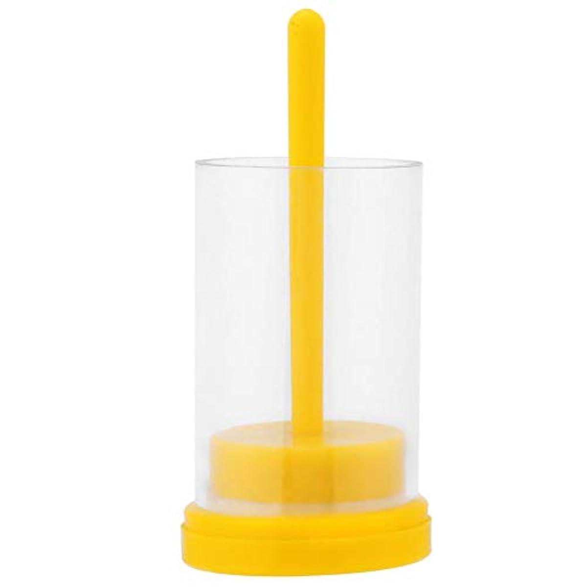 プーノエステートそれぞれクイーンビーマーカー1PC 蜂の巣用 便利なソフトプランジャー付き マーキングケージボトル