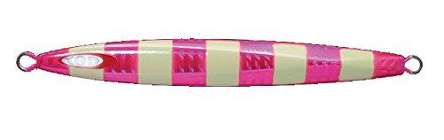 JACKALL(ジャッカル) メタルジグ ルアー アンチョビメタル タイプ1 250g ピンク/グローストライプ