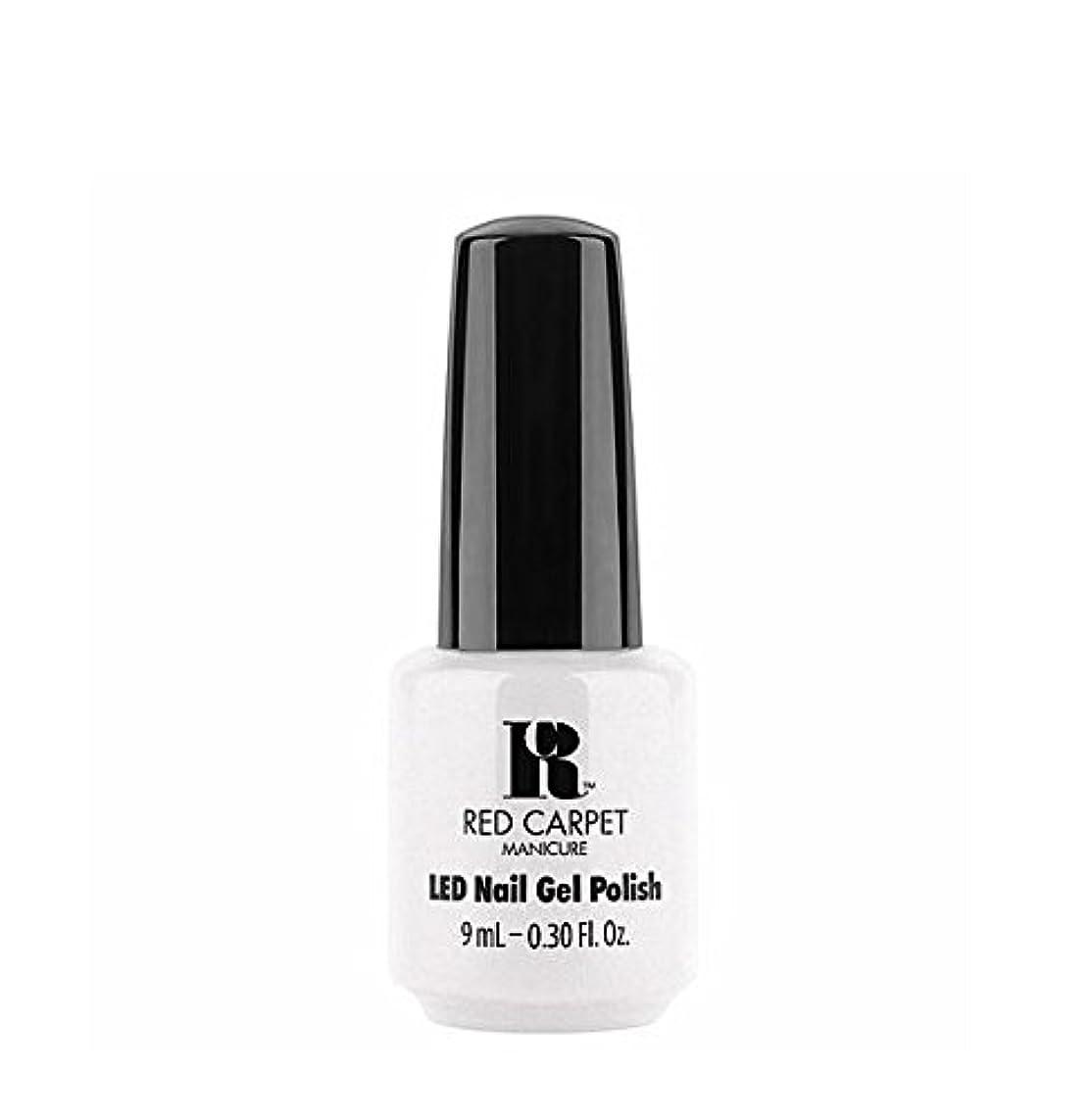 つばピンチ終わらせるRed Carpet Manicure LED Gel Polish - I Strut, You Strut - 9 ml/0.30 oz