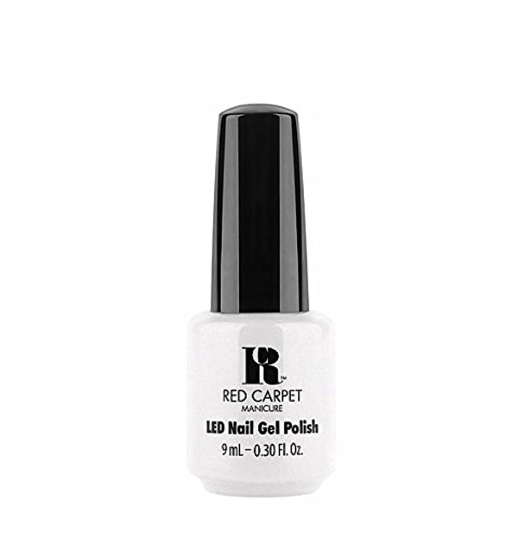 落ち着いた錆びはっきりしないRed Carpet Manicure LED Gel Polish - I Strut, You Strut - 9 ml/0.30 oz