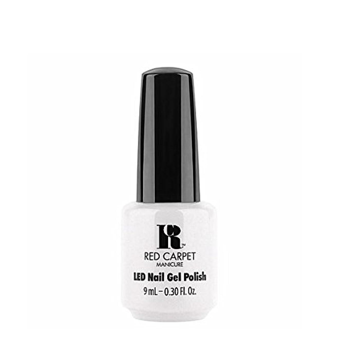 染色アレルギー性ペルソナRed Carpet Manicure LED Gel Polish - I Strut, You Strut - 9 ml/0.30 oz