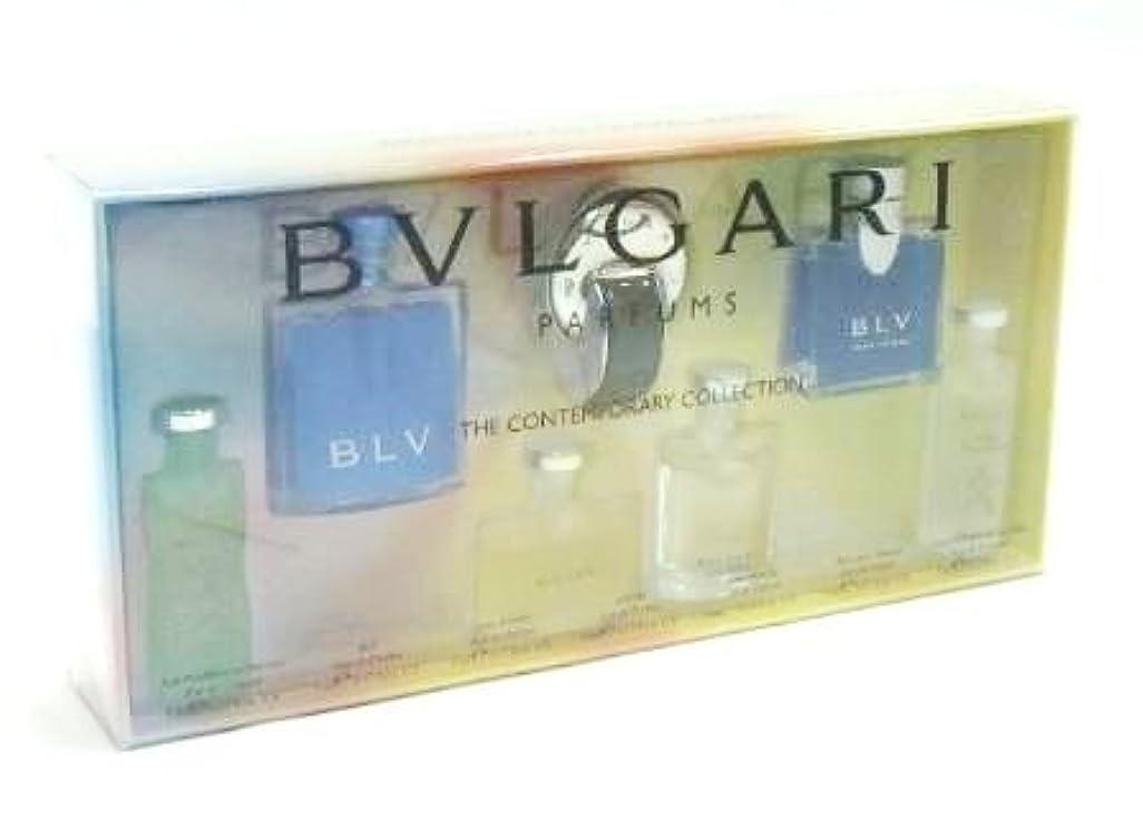 破壊する公平な市区町村ブルガリ ミニチュア 香水 7点セット (並行輸入) オムニア ブルガリブルー オパフメ