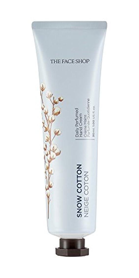 心理的海岸活気づく[1+1] THE FACE SHOP Daily Perfume Hand Cream [10. Snow Cotton] ザフェイスショップ デイリーパフュームハンドクリーム [10.スノーコットン] [new] [...