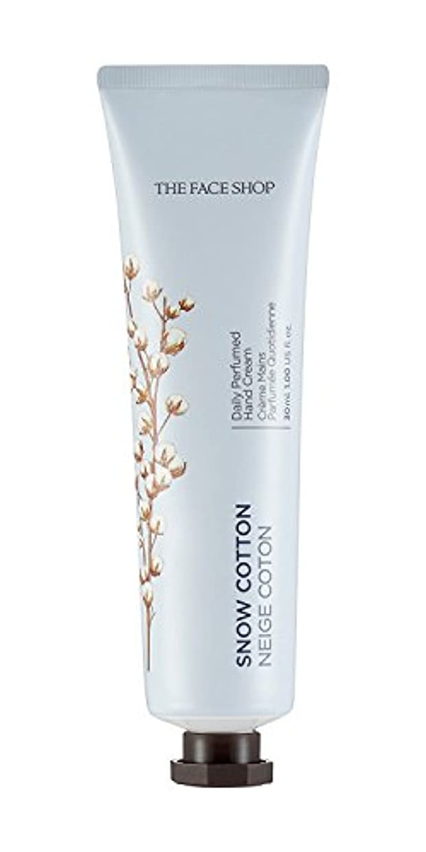 高架膜ゲインセイ[1+1] THE FACE SHOP Daily Perfume Hand Cream [10. Snow Cotton] ザフェイスショップ デイリーパフュームハンドクリーム [10.スノーコットン] [new] [並行輸入品]