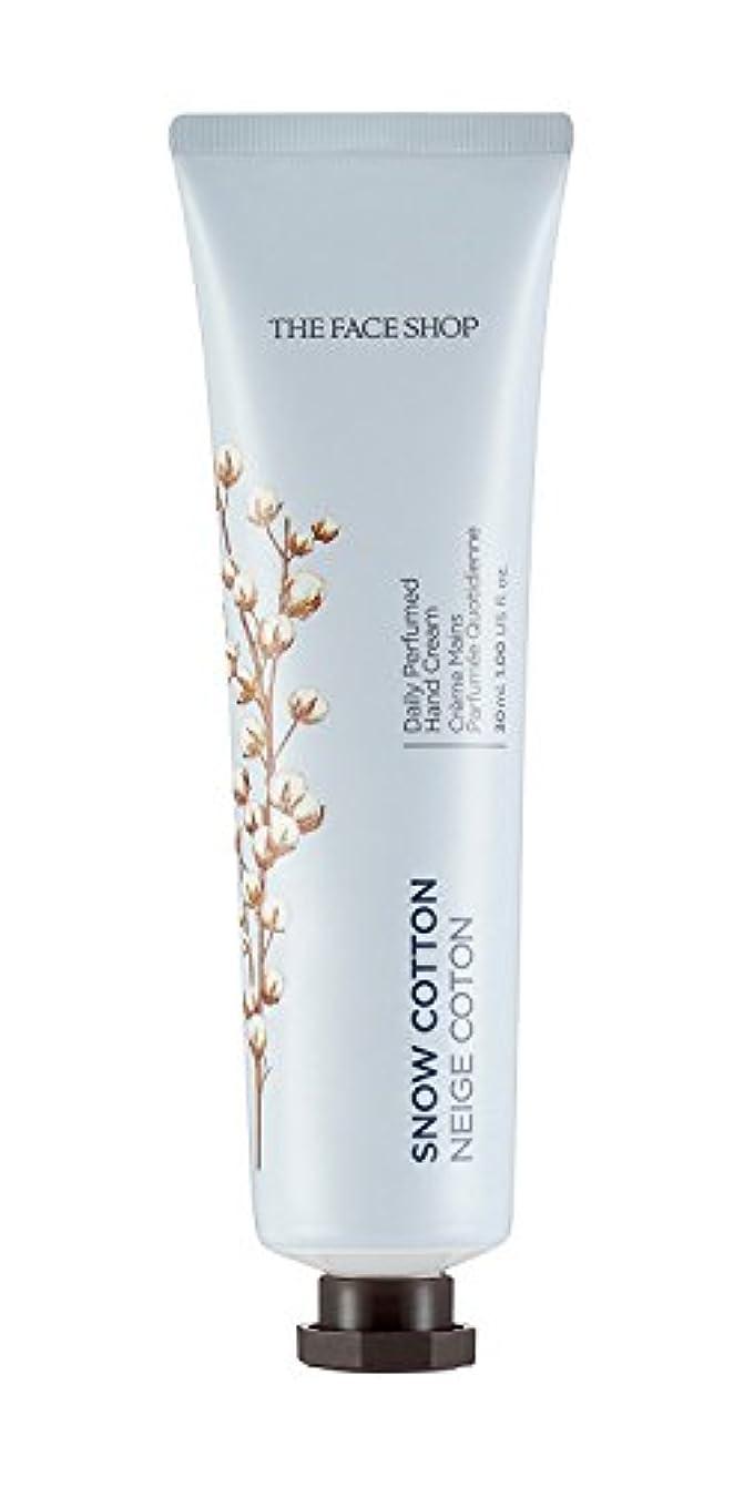 畝間隠イル[1+1] THE FACE SHOP Daily Perfume Hand Cream [10. Snow Cotton] ザフェイスショップ デイリーパフュームハンドクリーム [10.スノーコットン] [new] [...