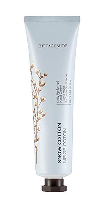 海峡ターミナルどこ[1+1] THE FACE SHOP Daily Perfume Hand Cream [10. Snow Cotton] ザフェイスショップ デイリーパフュームハンドクリーム [10.スノーコットン] [new] [...