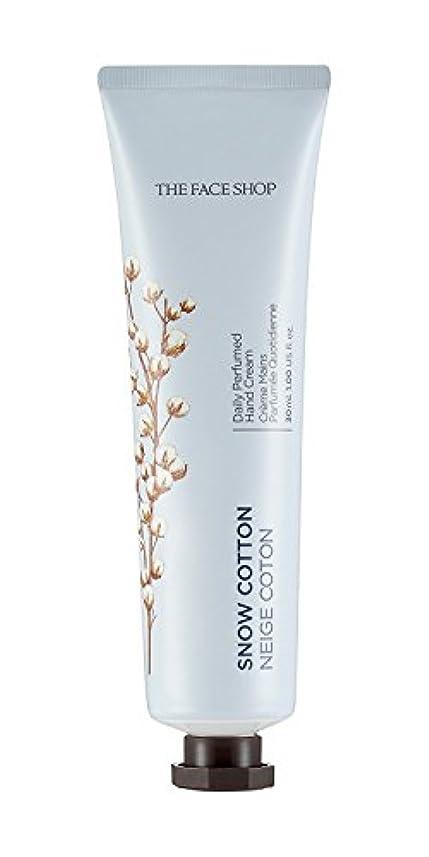 狼悪性待つ[1+1] THE FACE SHOP Daily Perfume Hand Cream [10. Snow Cotton] ザフェイスショップ デイリーパフュームハンドクリーム [10.スノーコットン] [new] [...