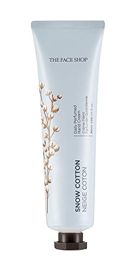識別開梱資本主義[1+1] THE FACE SHOP Daily Perfume Hand Cream [10. Snow Cotton] ザフェイスショップ デイリーパフュームハンドクリーム [10.スノーコットン] [new] [...