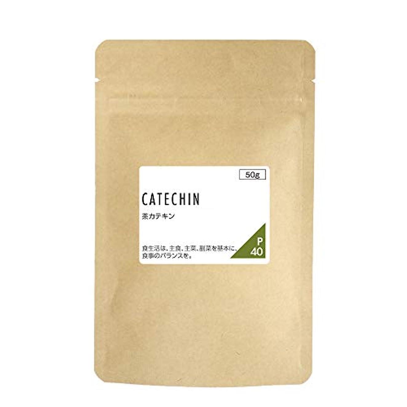 日付付き湖パンnichie 茶カテキン 100% 粉末 50g