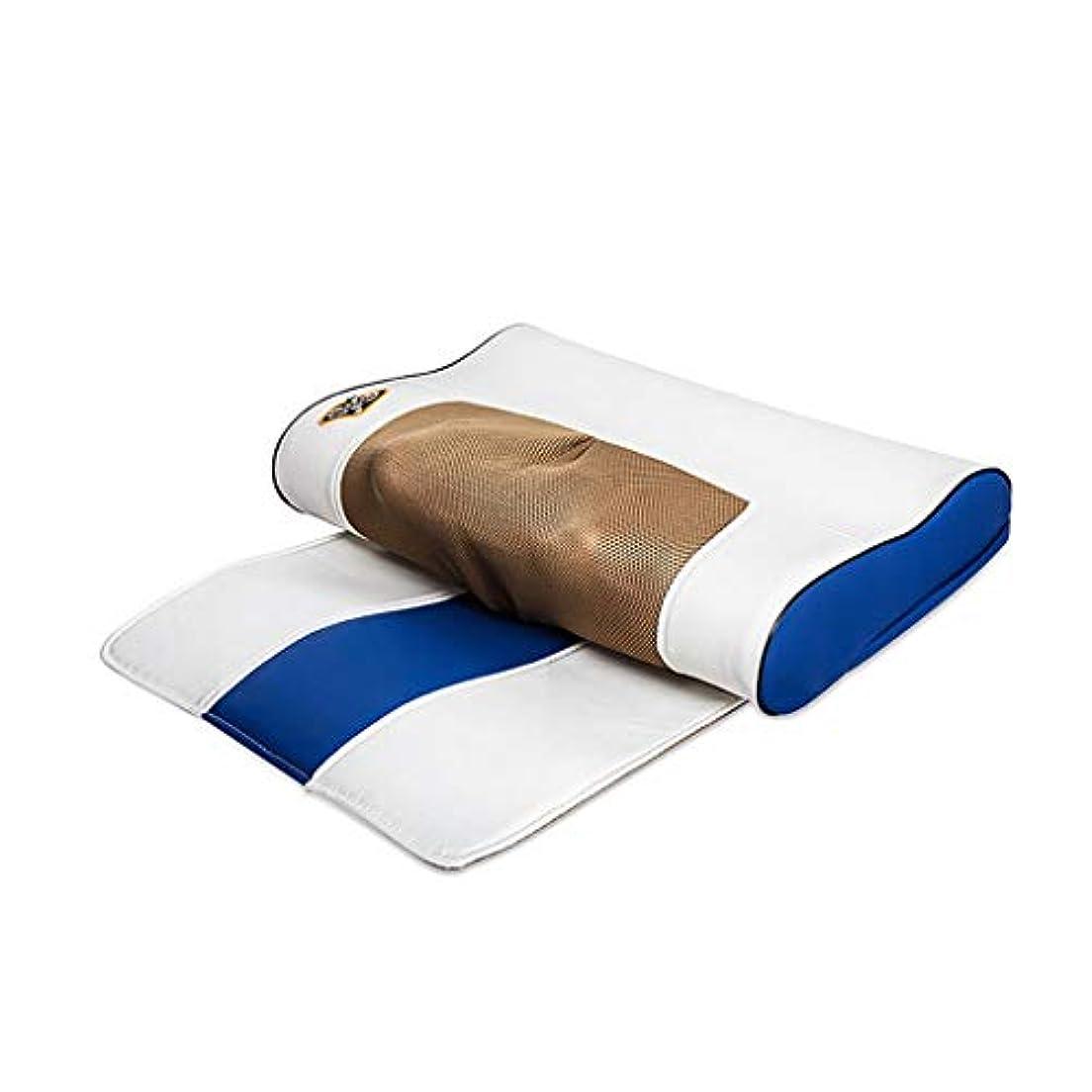 起きる疎外するやりがいのあるマッサージャー、ホーム多機能頸部マッサージ、ウエストバックハンド、ショルダー、ショルダー、頚部マッサージ枕、多機能電動混練マッサージクッション