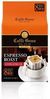 UCC カフェグレコ ドリップコーヒー エスプレッソロースト 8杯入り×12個