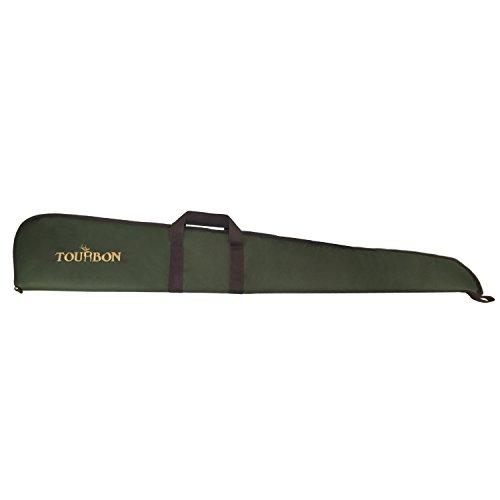 Tourbon 狩猟用グリンー 600Dナイロン製 ショットガンケース 銃バッグ 調節可能 ショルダーストラップ付 グ...