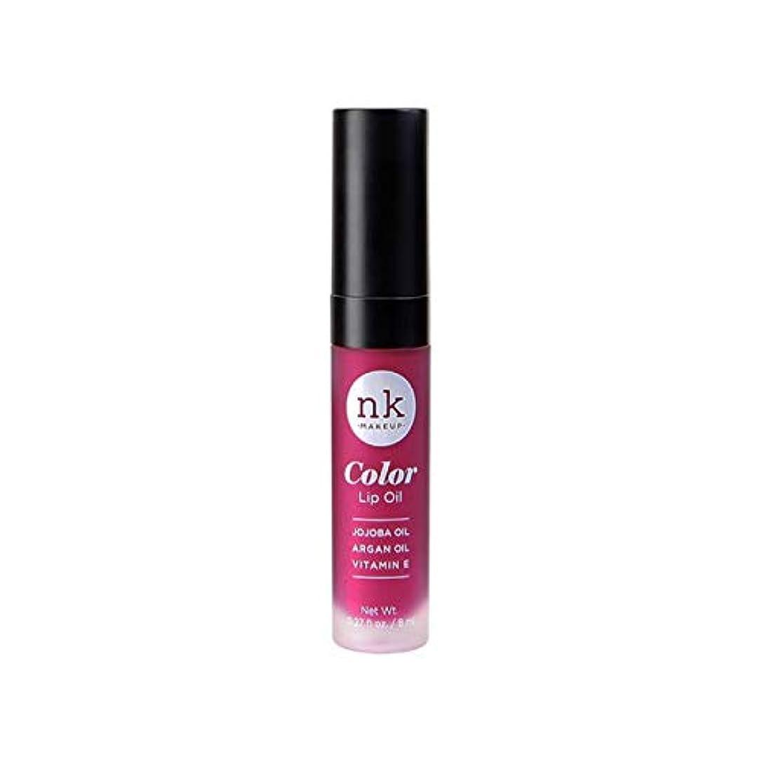 がんばり続ける渇き鰐NICKA K Color Lip Oil - Kahala (並行輸入品)