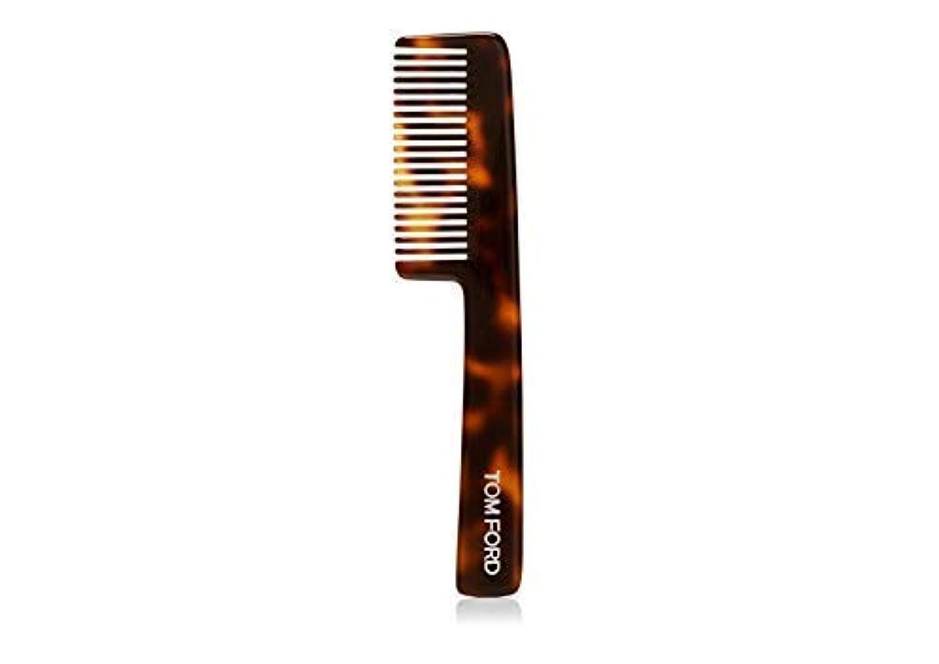 整然としたデータ平凡Tom Ford for Men Beard Comb Made in Belgium / 男性用髭櫛用トムフォードベルギー製