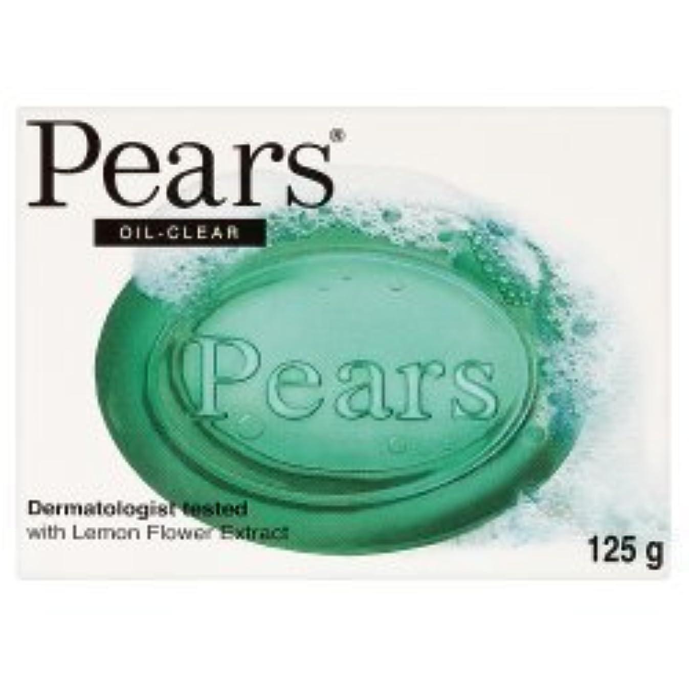 強要ストライプのスコアPears Oil Clear Bar Soap ( 125g x 12 x 1 ) by Pears