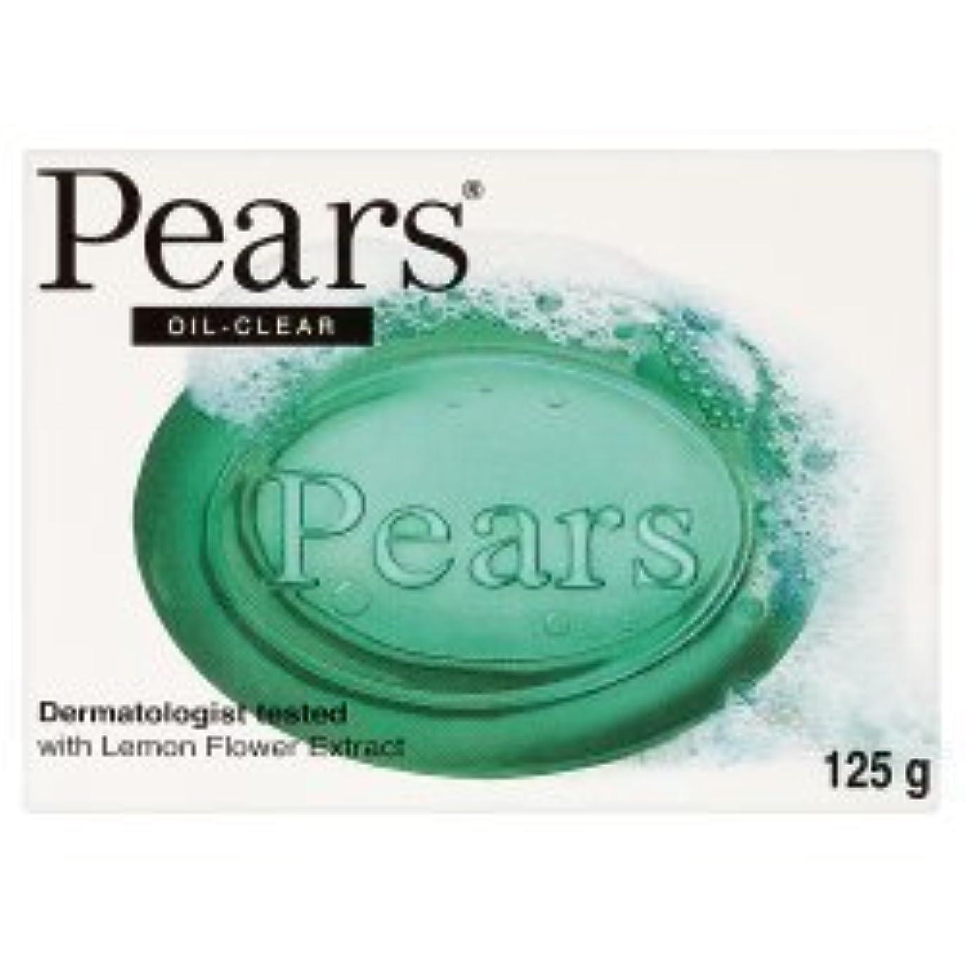 ビーズ見捨てる口ひげPears Oil Clear Bar Soap ( 125g x 12 x 1 ) by Pears