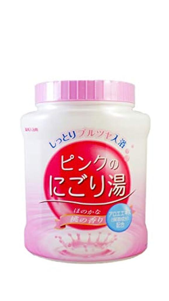 事故シンプルさチャンピオンシップ薬用入浴剤 ピンクのにごり湯 ほのかな桃の香り 天然保湿成分配合 医薬部外品 680g