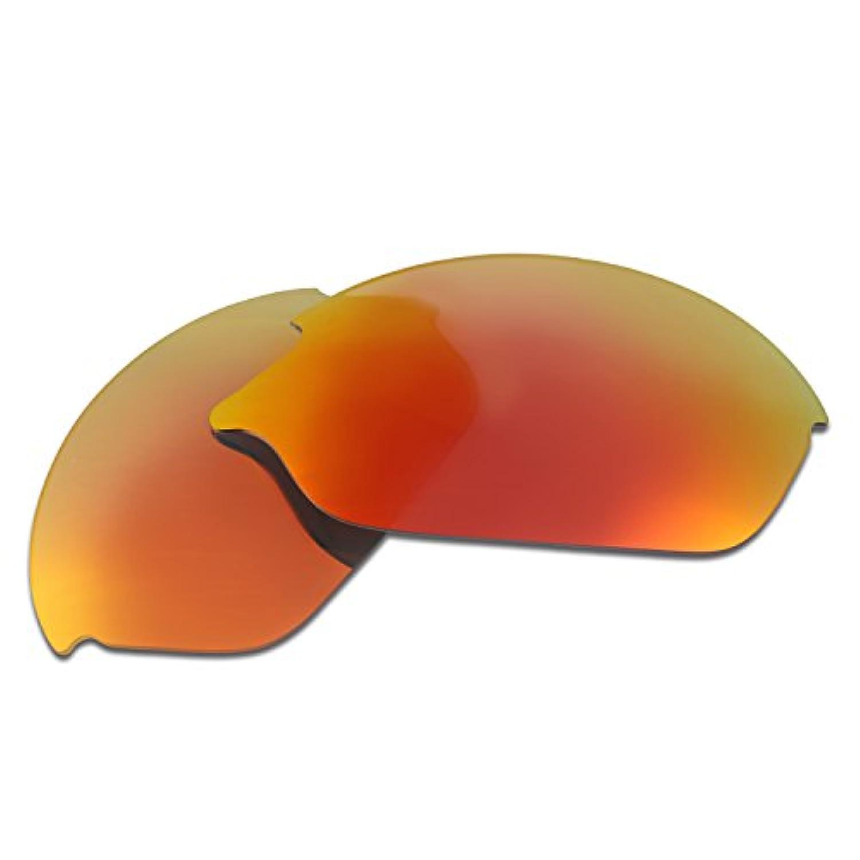 Hkuco Plus 交換用レンズ Oakley Romeo 2 - マルチオプション型 レッド 偏光
