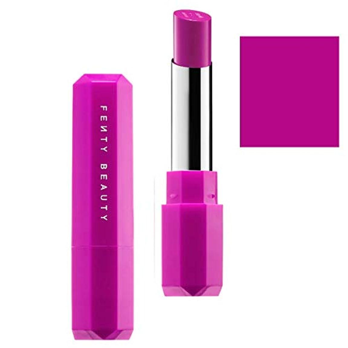 顔料言い訳キャンドルFENTY BEAUTY BY RIHANNA,New!!, 限定版 limited-edition, Poutsicle Juicy Satin Lipstick - Purpcicle [海外直送品] [並行輸入品]