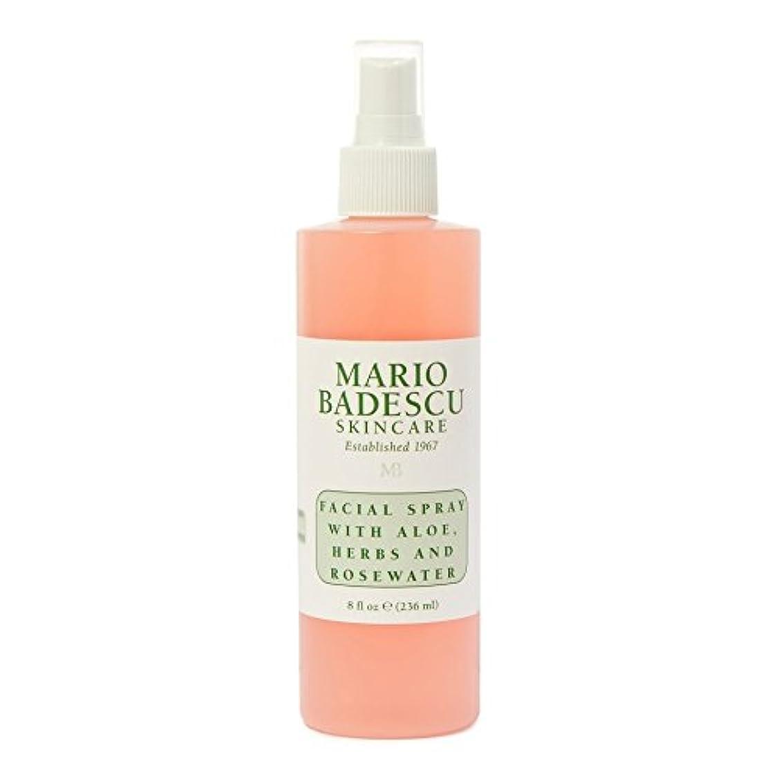 動かない隣人必需品Mario Badescu Facial Spray 236ml - マリオ?バデスキュー顔面スプレー236ミリリットル [並行輸入品]