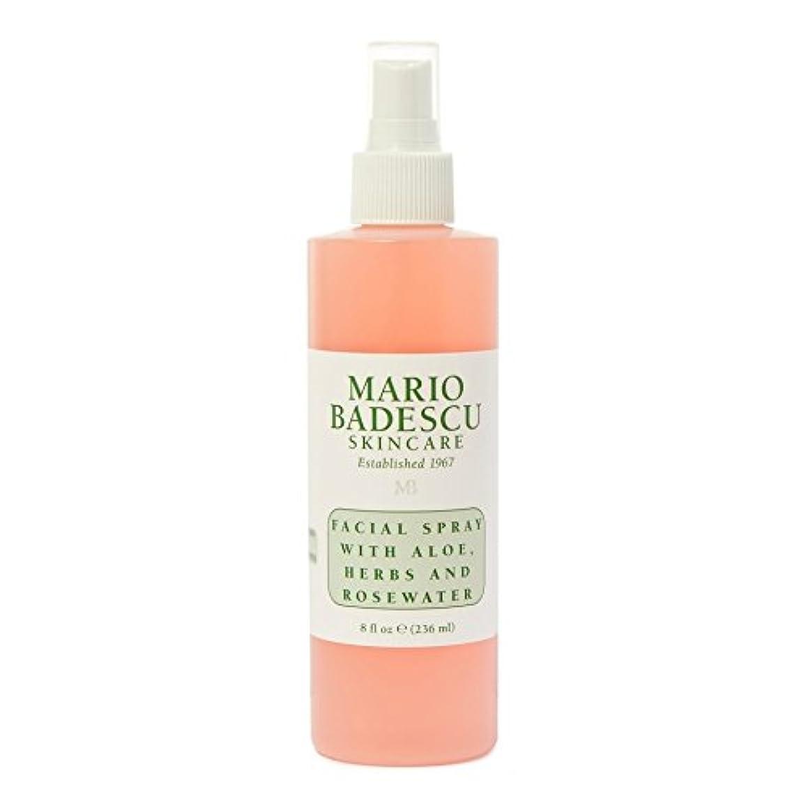 桁リテラシー電気のMario Badescu Facial Spray 236ml - マリオ?バデスキュー顔面スプレー236ミリリットル [並行輸入品]