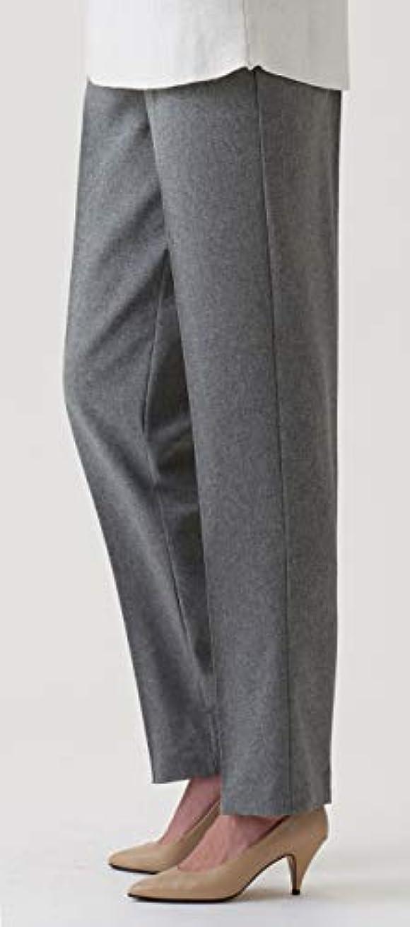 コインランドリーダイアクリティカル伝統的セルヴァン UVカット 肌さら涼感パンツ ベージュ LL