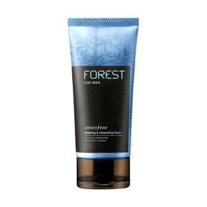 面積知人石油[Innisfree] Forest For Men Shaving & Cleansing Foam 150ml by Innisfree [並行輸入品]