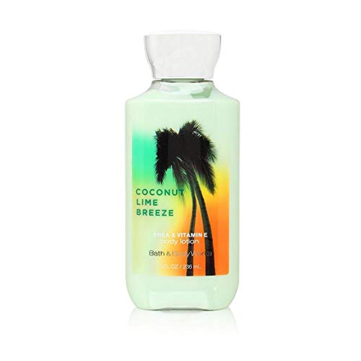 つぶやき降雨ディーラー【バス&ボディワークス】 Body Lotion/ボディローション Coconut Lime Breeze