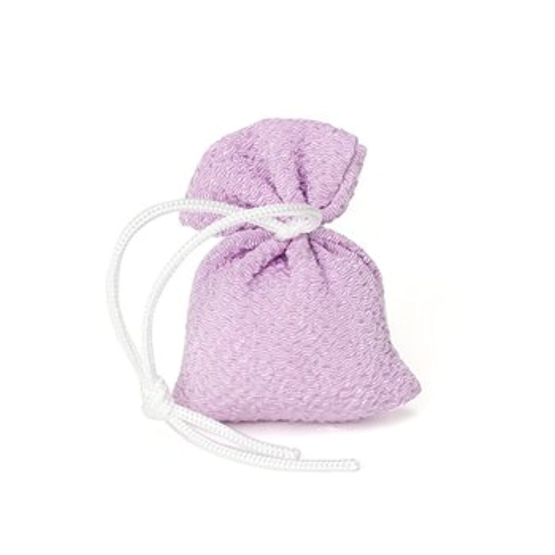 試用置くためにパック熟す松栄堂 匂い袋 誰が袖 携帯用 1個入 ケースなし (色をお選びください) (藤)