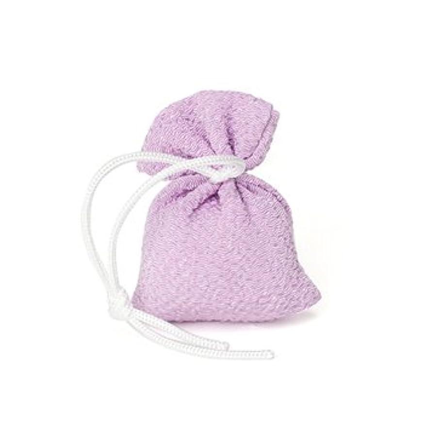 自治出力インタラクション松栄堂 匂い袋 誰が袖 携帯用 1個入 ケースなし (色をお選びください) (藤)