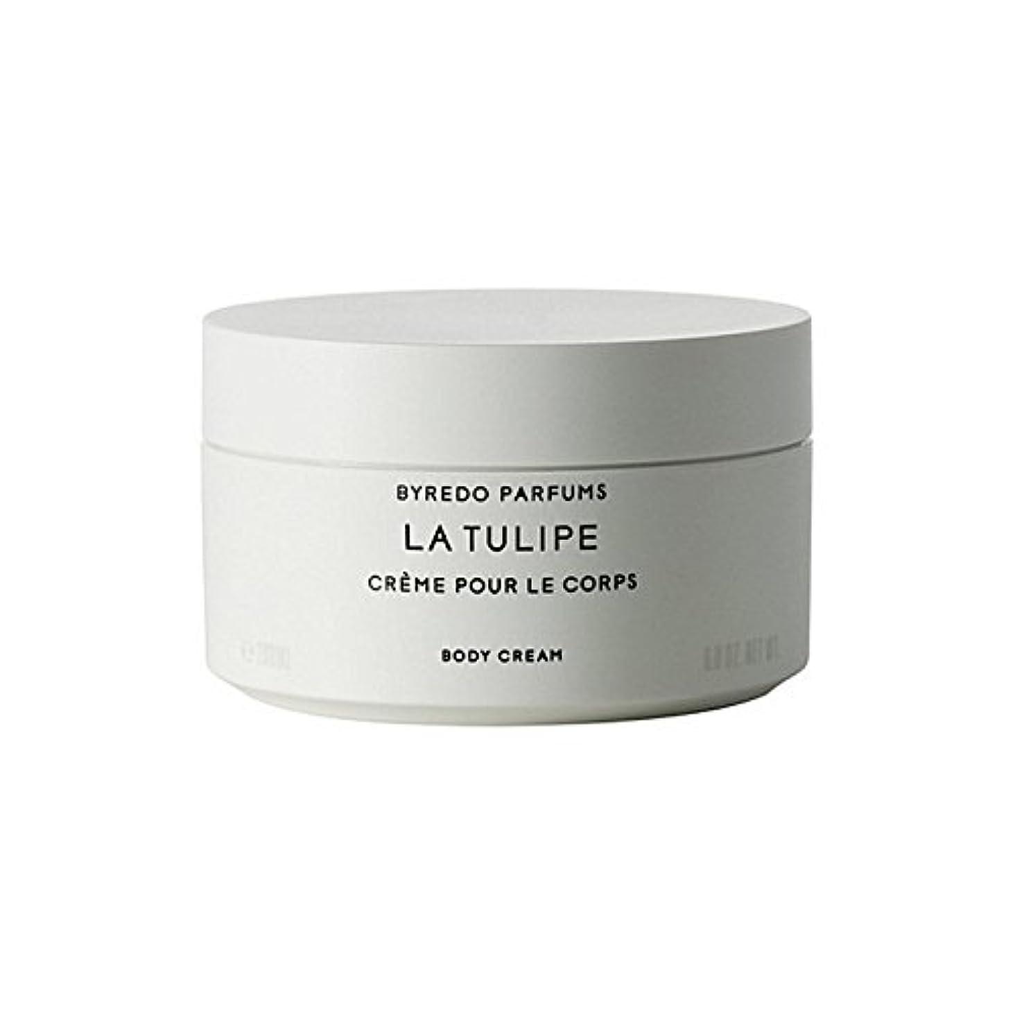 静かにパスポート時系列ラチューリップボディクリーム200ミリリットル x4 - Byredo La Tulipe Body Cream 200ml (Pack of 4) [並行輸入品]
