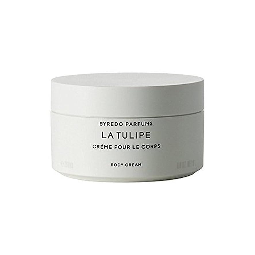 前提条件聴覚葬儀ラチューリップボディクリーム200ミリリットル x4 - Byredo La Tulipe Body Cream 200ml (Pack of 4) [並行輸入品]