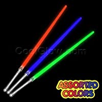 6 Pack LED Light Saber 28
