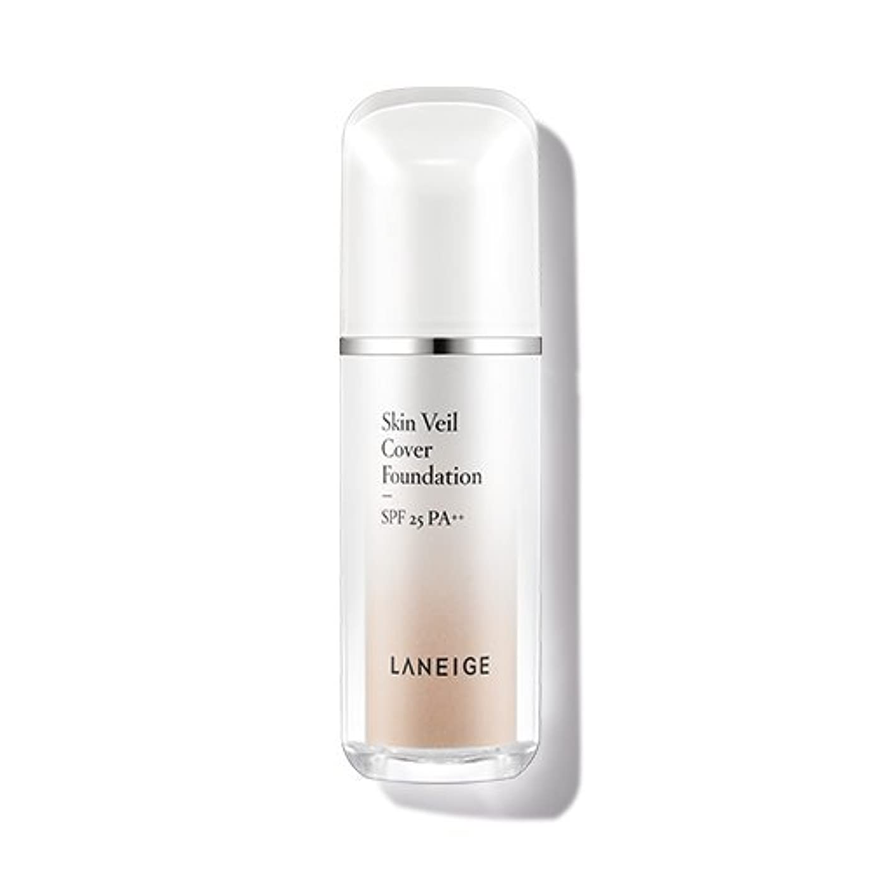 四露出度の高い不振ラネージュ(LANEIGE) スキンベールカバー?ファンデーション Skin Veil Cover Foundation 30ml (No.21 Beige)