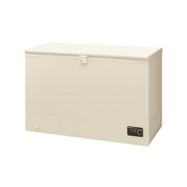 シャープ 直冷式 室外設置対応冷凍ストッカー 3...の商品画像
