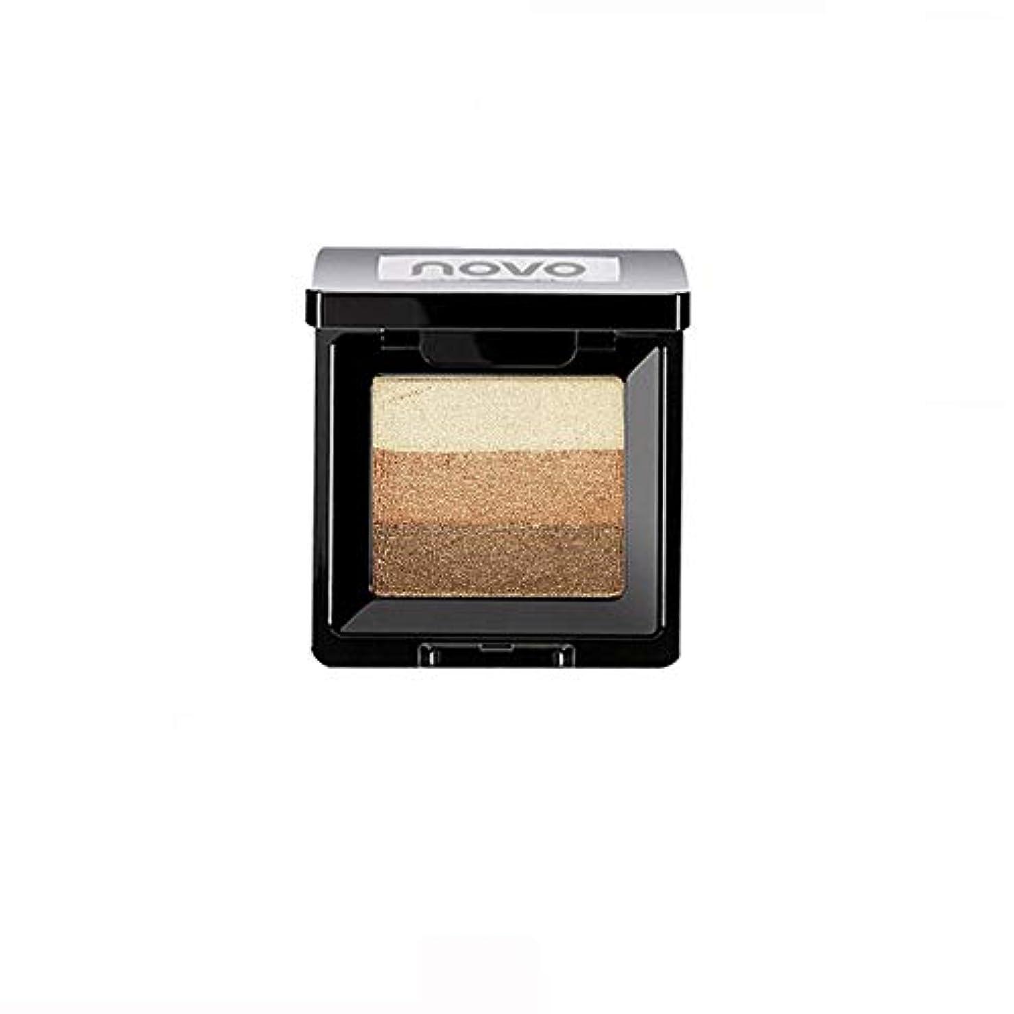 つま先本節約するAkane アイシャドウパレット NOVO ファッション 魅力的 3色 グラデーション 人気 綺麗 マット チャーム つや消し 真珠光沢 長持ち おしゃれ 持ち便利 Eye Shadow (8種類)