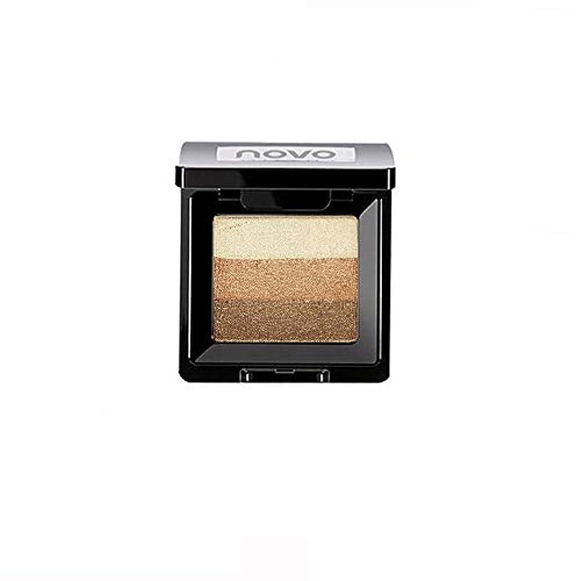 慣れる手数料愛国的なAkane アイシャドウパレット NOVO ファッション 魅力的 3色 グラデーション 人気 綺麗 マット チャーム つや消し 真珠光沢 長持ち おしゃれ 持ち便利 Eye Shadow (8種類)