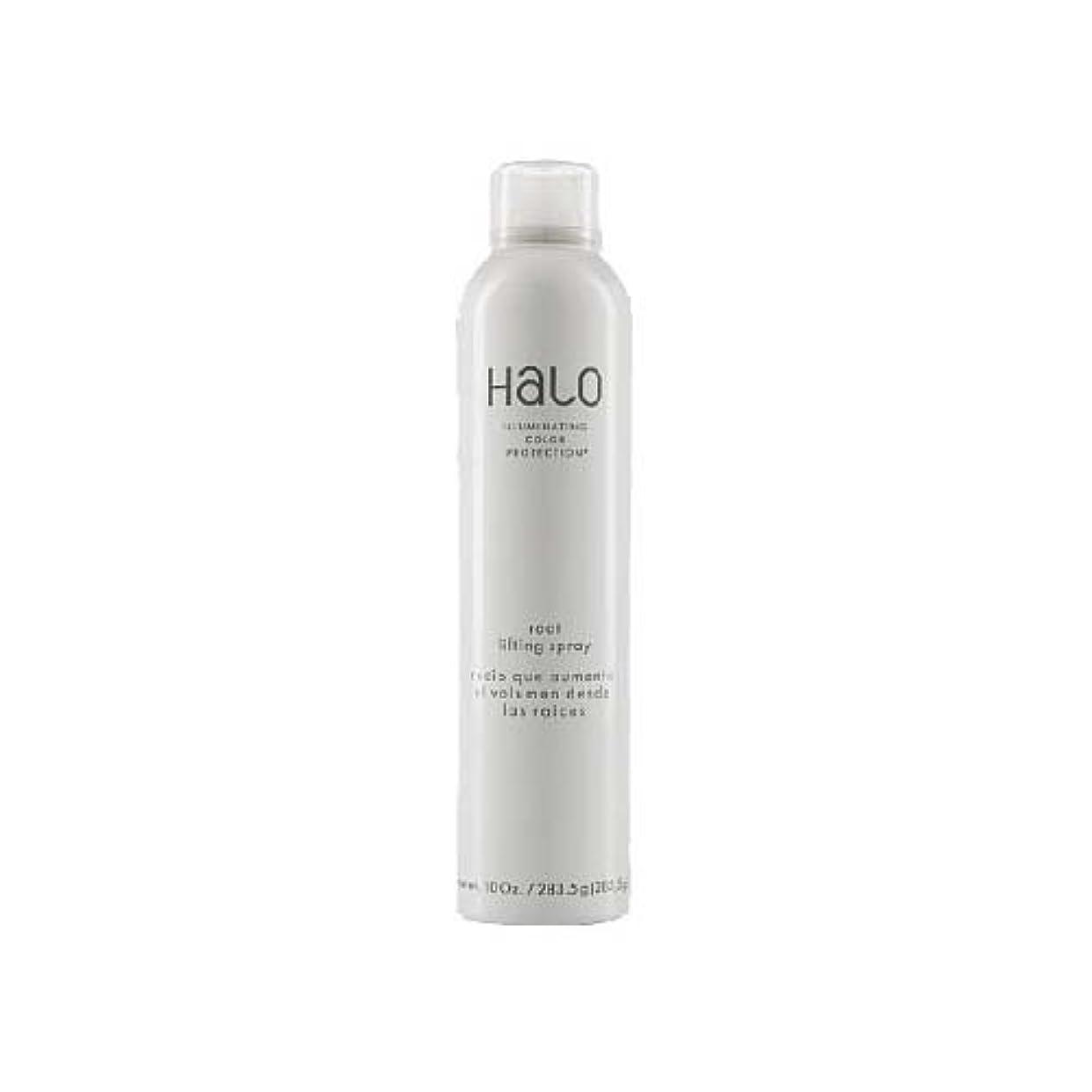 許さない毛皮歯科のHalo HALO照明COLOR保護ROOTリフティングスプレー10オンス 10オンス