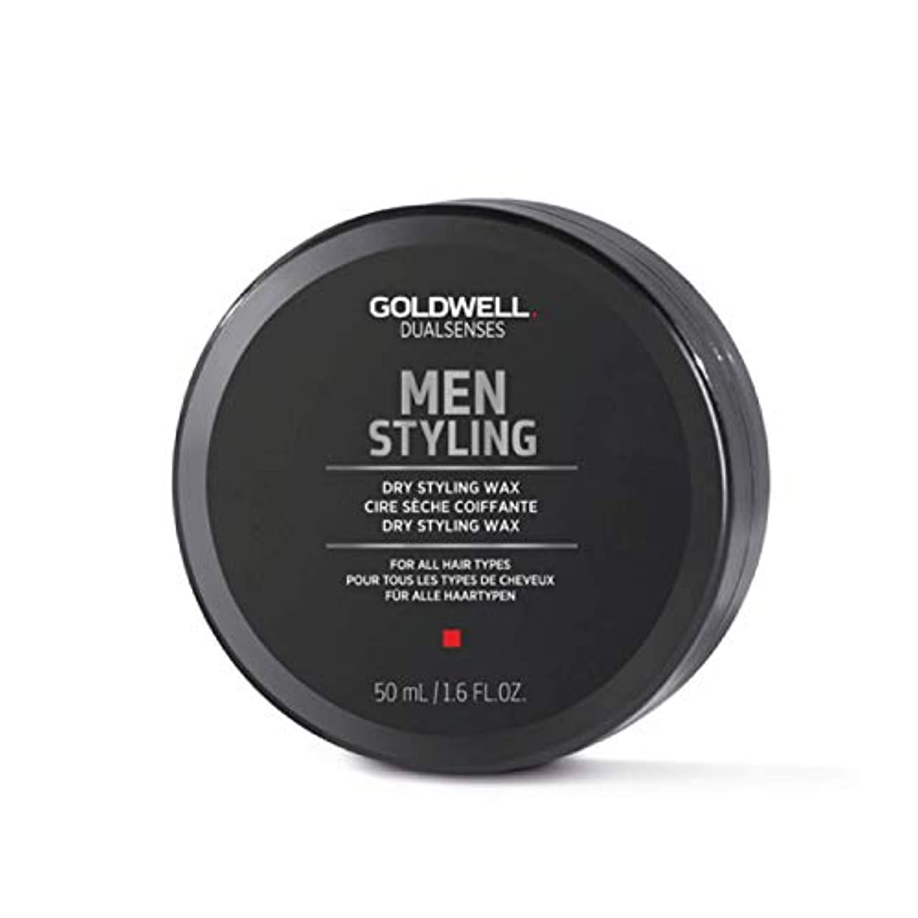 遠えもちろんスカリーMen by Goldwell Dry Styling Wax 50ml by Goldwell