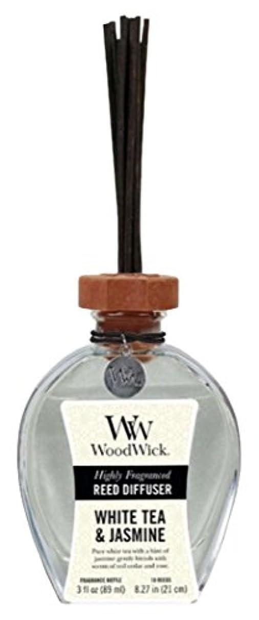 オフセットティーム君主Wood Wick ウッドウィック リードディフューザーS ホワイトティージャスミン