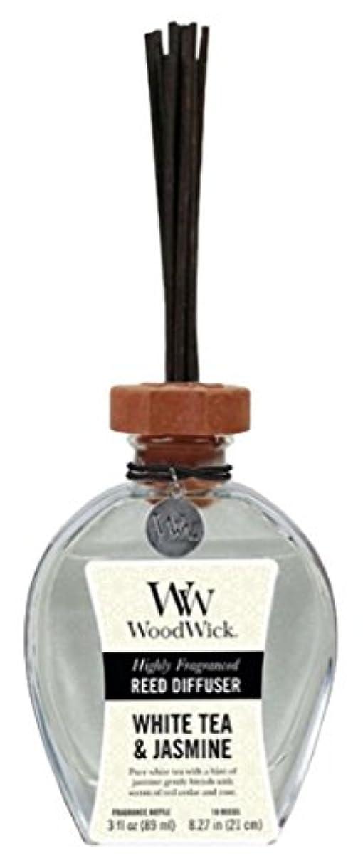ふくろう静かなダウンタウンWood Wick ウッドウィック リードディフューザーS ホワイトティージャスミン